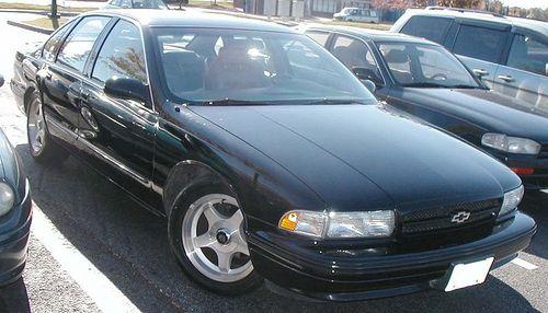 Chevrolet Impala Ss 1994 1995 1996 Workshop Service Repair Manual