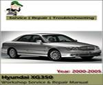 Hyundai XG250 XG300 XG350 2000-2005 Workshop Service Repair Manual