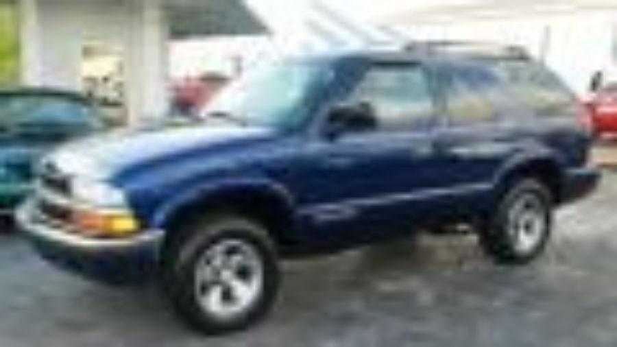 2000-2001 2002 2003 2004 2005 Chevy Blazer Factory Service Repair Manual