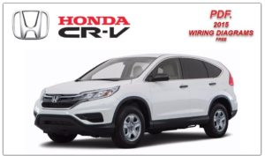 Honda CRV 2015 Wiring Diagrams Service Manual