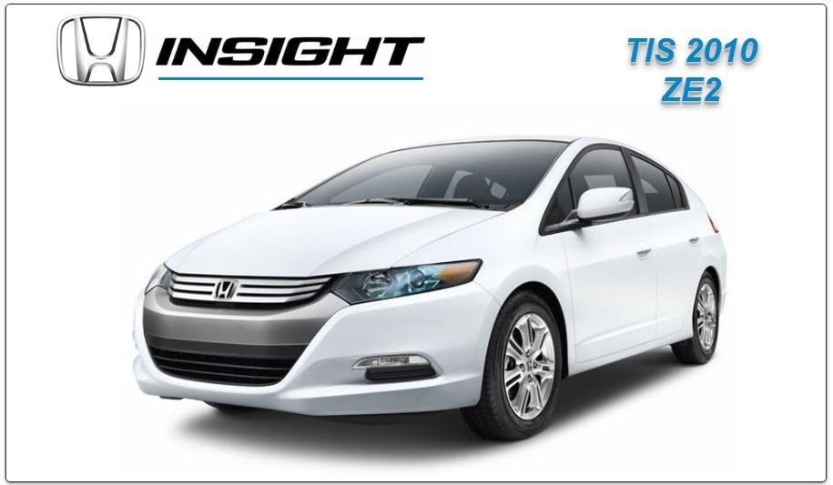 Honda Insight 2010 Workshop Service Repair Manual