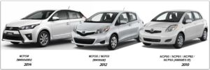 Toyota Yaris 2010-2014 Workshop Service Repair Manual