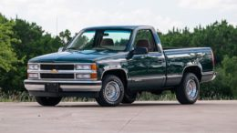 Chevrolet Silverado Pickup 1995-1996 Workshop Service Repair Manual