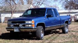 Chevrolet Silverado Pickup 1997 Service Repair Manual